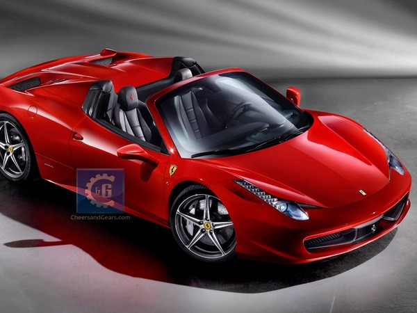 Ferrari 458 Italia Spider : voici les premières images (volées) officielles
