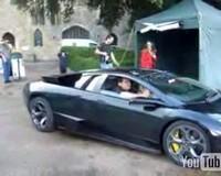 Vidéo : Un Jacky en Lamborghini LP640? Oui ca existe...