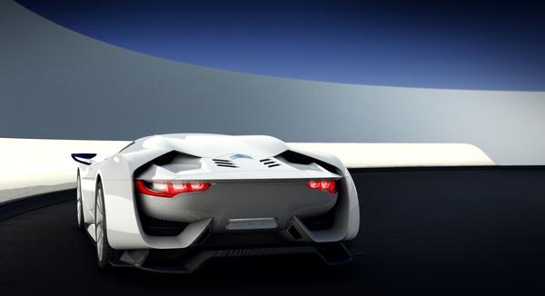 La Citroën GT Concept s'expose