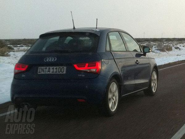 L'Audi A1 5 portes surprise en test