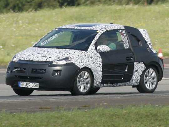 Future Opel Junior: une nouvelle illustration signée Autocar...
