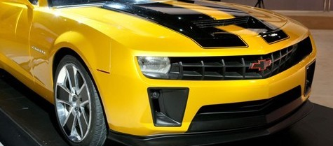 Une édition limitée Bumblebee pour la Chevrolet Camaro