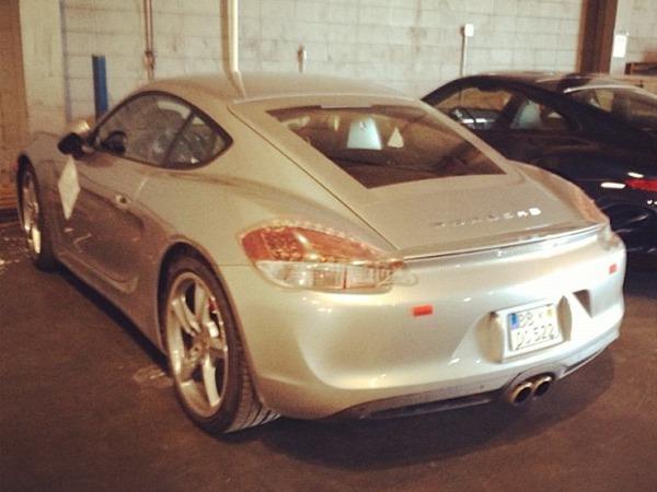 La nouvelle Porsche Cayman dans son plus simple appareil