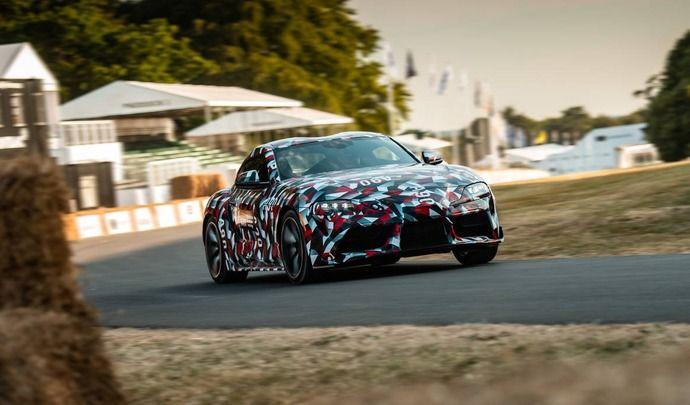 Toyota Supra : deux moteurs, dont un quatre cylindres