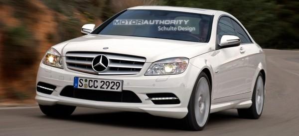 Classe C : encore un nouveau coupé chez Mercedes