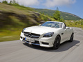 [vidéos & photos] Le roadster Mercedes SLK 55 AMG s'anime