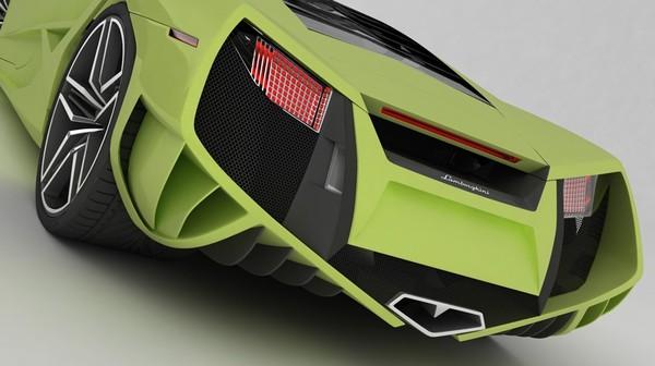 Lamborghini X : la Reventon, c'est pour les fillettes