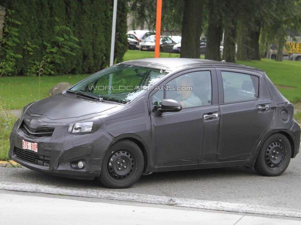 Spyshot : prochaine Toyota Yaris