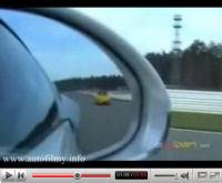 Bugatti Veyron vs. Porsche CTR Yellowbird by Ruf en vidéo