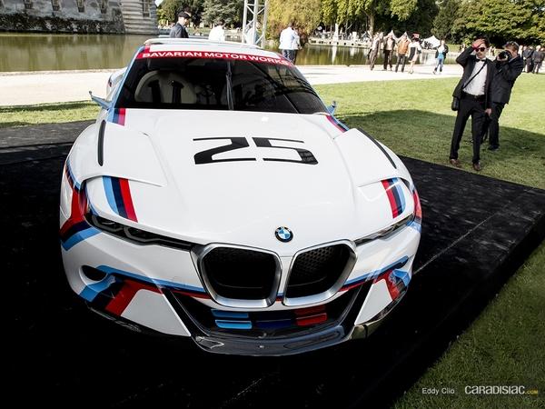 Photos du jour : BMW 3.0 CLS Hommage R (Concours d'Elégance de Chantilly)