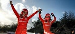 WRC GB final : Hirvonen se surpasse, Grönholm se casse, Loeb surclasse