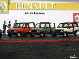 Miniature : 1/43ème - RENAULT Rodéo 5