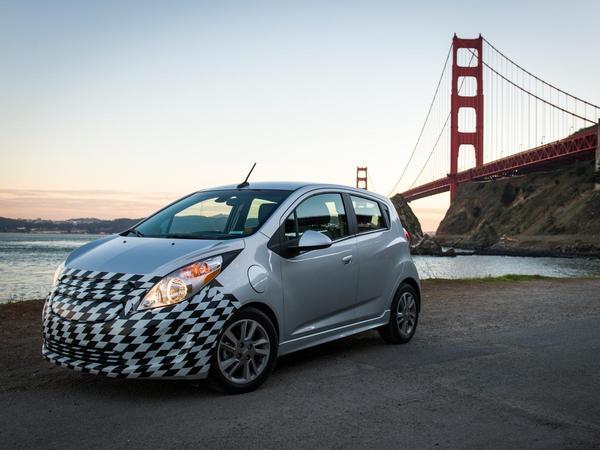Los Angeles 2012 : la Chevrolet Spark EV et ses 542 Nm de couple !