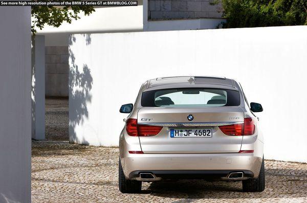 Nouvelle BMW GT5 : quasi officielle (43 photos HD + 1 vidéo)