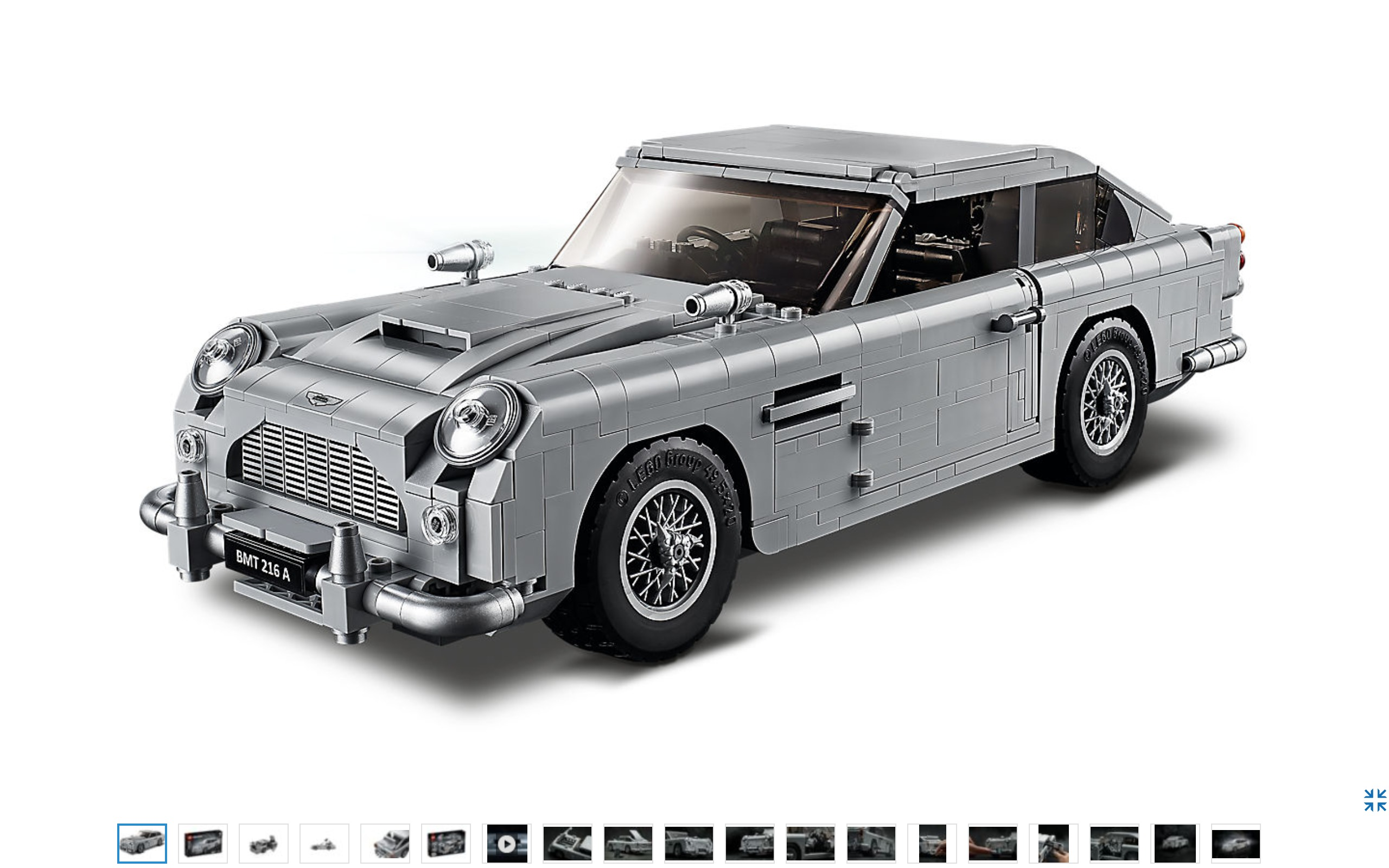 aston martin la voiture de james bond en lego. Black Bedroom Furniture Sets. Home Design Ideas