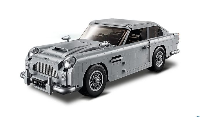 Aston Martin : la voiture de James Bond en Lego