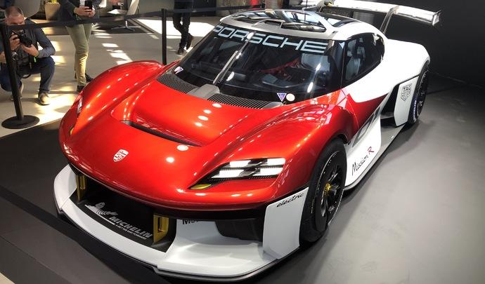 Porsche Mission R Concept : la compétition client, sans émission - En direct du Salon de Munich 2021