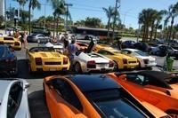 Réunion chez Lamborghini Miami : ca pique !
