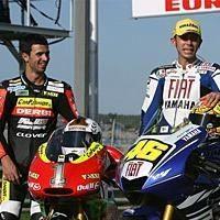 GP250 - Aprilia: Talmacsi a testé la moto Aspar, Pasini signe chez Toth