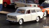 Miniature : 1/43ème - FIAT 1100 R familiale