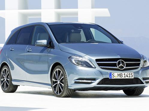 Surprise : la Mercedes Classe B encore en fuite