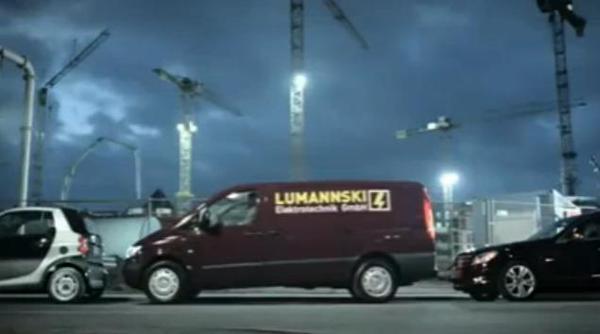 [Vidéo] Mercedes en campagne pour le Parktronik.
