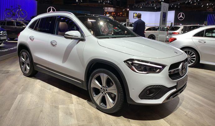 Mercedes GLA 2: Classe B SUV - Vidéo en direct du Salon de Bruxelles 2020