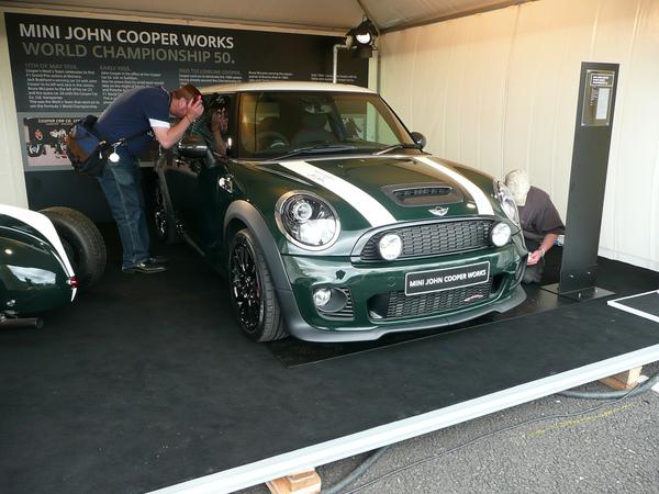 Mini United : première pour la Mini F1 alias JCW World Championship 50 (ajout photos officielles)