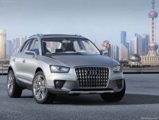 Salon de Shanghaï  : Audi et son Concept Cross Coupé Quattro, un TDI tout beau tout neuf tout propre