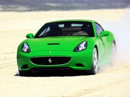 Mondial 2010 : une Ferrari California verte en guise de nouveauté ?