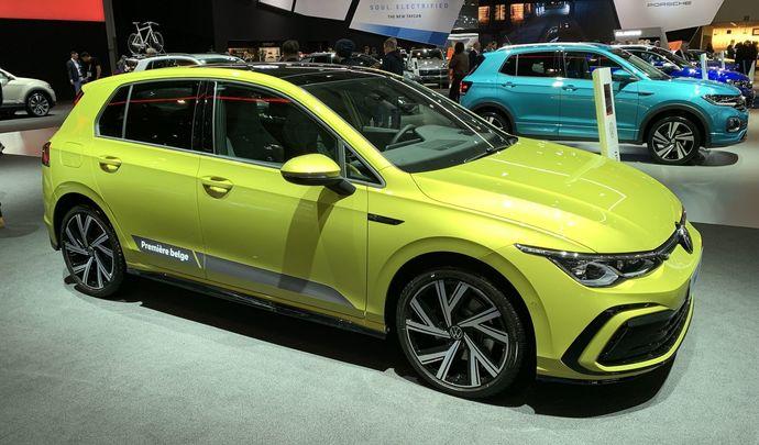 Volkswagen Golf 8: digitale, connectée, hybride – Vidéo en direct du Salon de Bruxelles 2020
