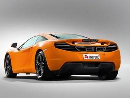 Vidéo : La McLaren MP4-12C fait ses gammes en Akrapovic