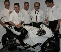 Moto GP: L'Ilmor X3 tourne