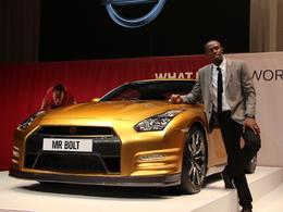 La Nissan GT-R Bolt Gold unique aux enchères