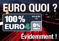 MAN : des poids lourds respectant les normes anti-pollution EURO 4 et EURO 5