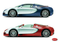 "Future Bugatti Veyron Targa: ""seulement 340 km/h""!"
