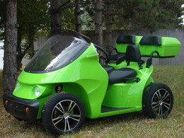 Mondial de Paris 2010 : la gamme de véhicules électriques Bi-Scot