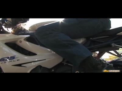 Triumph Daytona 675 SE 2009 : Oh my god !!!!