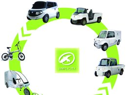 Mondial de Paris 2010 :  les véhicules électriques de la société Eco&Mobilité