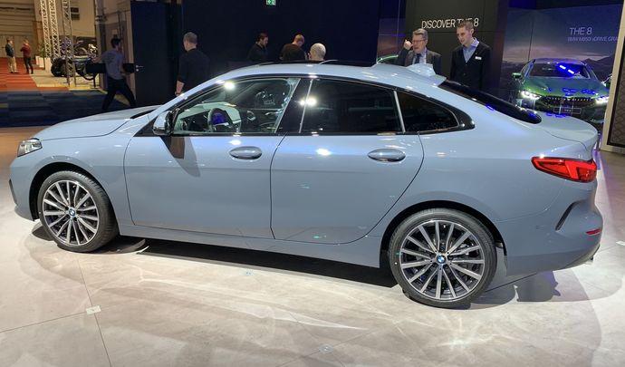 BMW Série 2 Gran Coupé: nouvelle attraction - Vidéo en direct du Salon de Bruxelles 2020