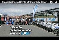 FFM: l'École Motocycliste Itinérante en vidéo