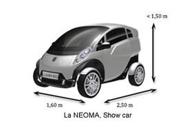 Mondial de Paris 2010 : la Lumeneo NEOMA électrique en première mondiale