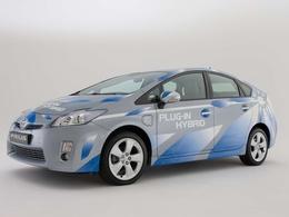 Des Toyota Prius hybrides rechargeables testées à San Francisco