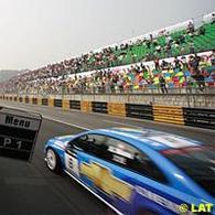 WTCC: Chevrolet salue l'artiste !