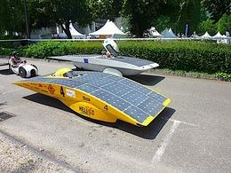 Mondial de Paris 2010 : le prototype de véhicule solaire amélioré Hélios IV