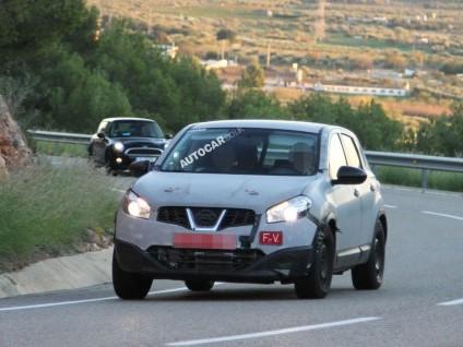 Le futur Nissan Qashqai surpris en test