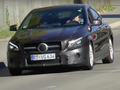 Surprise : la Mercedes CLA restylée se promène