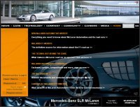 Nouveau site Internet McLaren Automotive