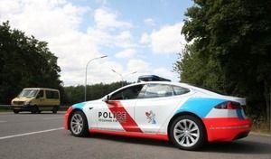 Au Luxembourg, la police en Tesla
