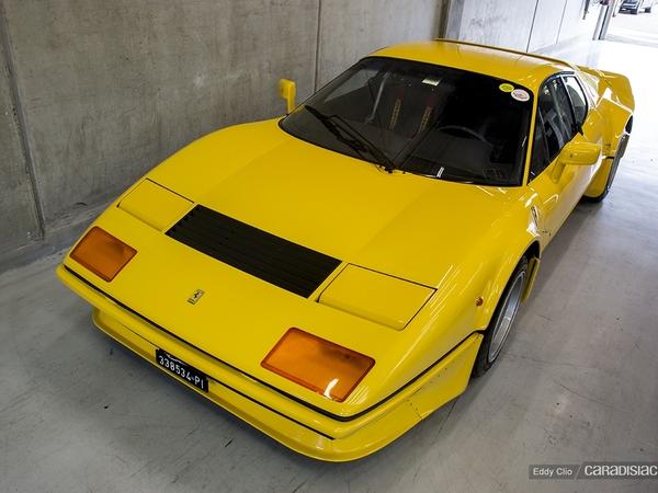 Photos du jour : Ferrari 512 BB Bacchelli E Villa (Modena Track Days)